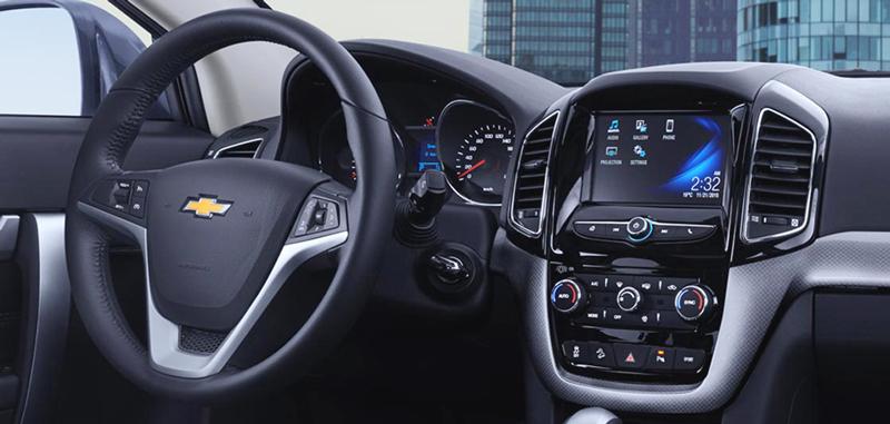 Thông tin và giải trí trên Chevrolet Captiva