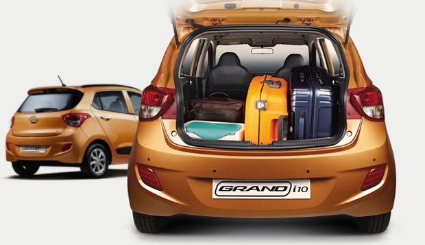 Hyundai Grand i10 Cần Thơ - Khoang hành lý dạng Hatchback