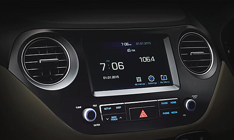 Hệ thống AM/FM/CD/MP3 - Hyundai Grand I10 Cần Thơ