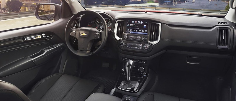 Nội thất Chevrolet Colorado