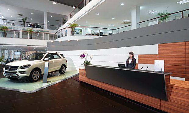 Đại lý phân phối Mercedes Cần Thơ - Sài Gòn