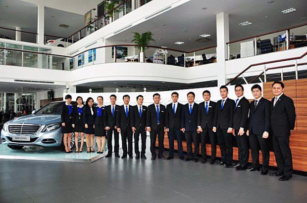 Đội ngũ kinh doanh nhiệt tình và chuyên nghiệp