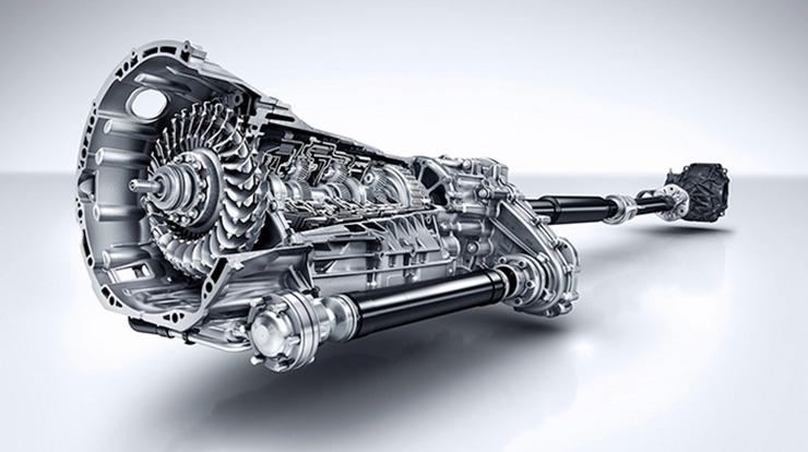 Động cơ Mercedes 9g tronic