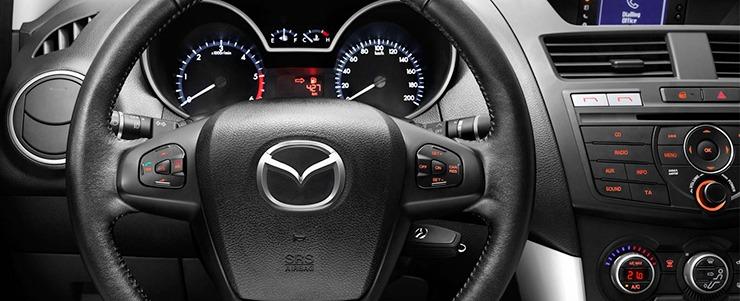 Mazda BT-50 vô lăng