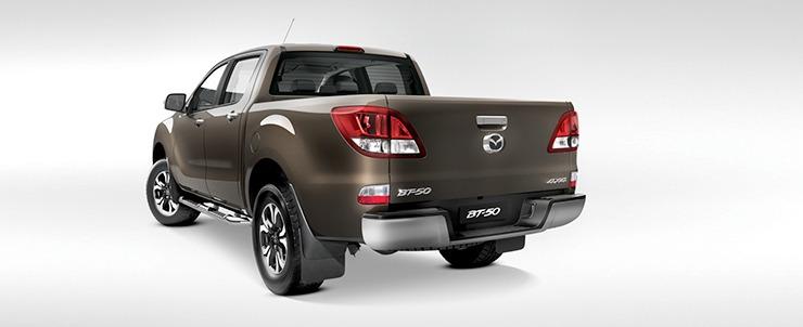 Mazda BT-50 đuôi xe