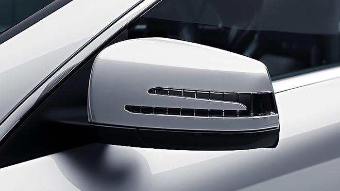 Mercedes CLA đèn led gương chiếu hậu