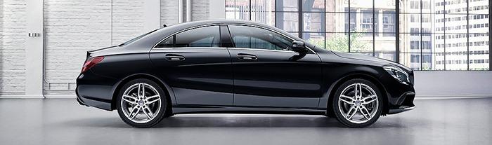 Phần thân xe Mercedes CLA 250
