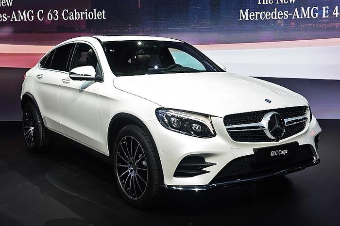 Tổng quan xe Mercedes GLC 300 4MATIC Coupe 2017