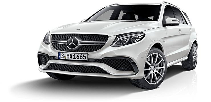 Mercedes GLE SUV avatar