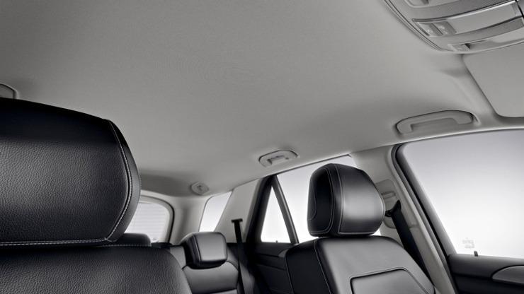 Mercedes GLE nội thất 4