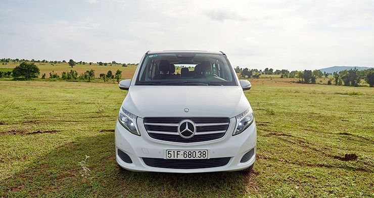 Mercedes V Class ngoại thất 9