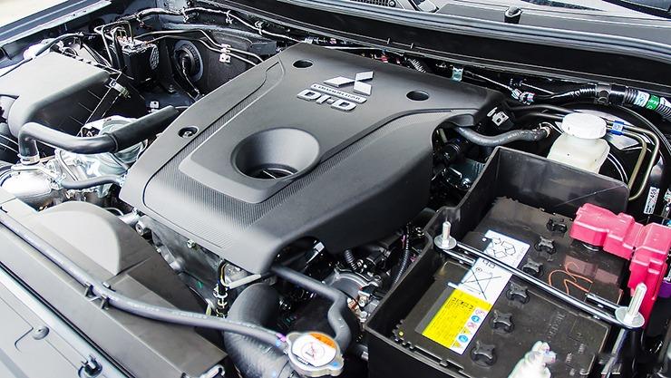 Động cơ của xe Mitsubishi Triton