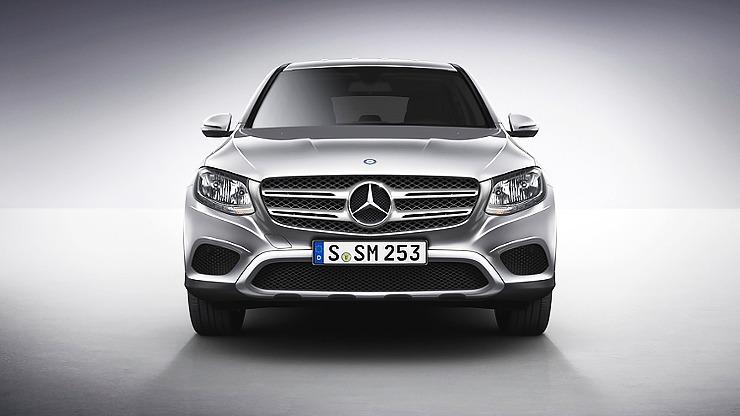 Chính diện xe Mercedes GLC 250 4MATIC