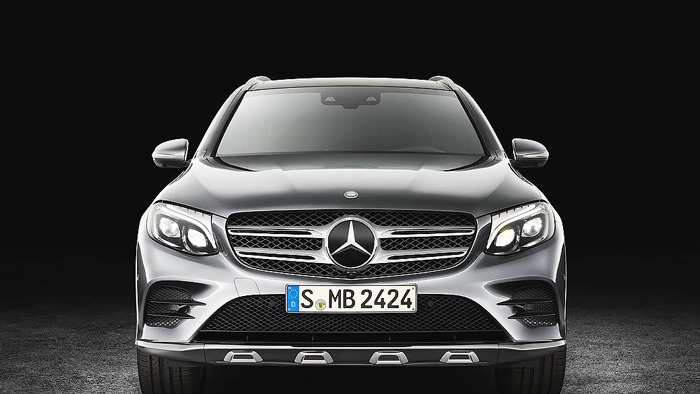 Đầu xe Mercedes GLC 300 4MATIC 2017