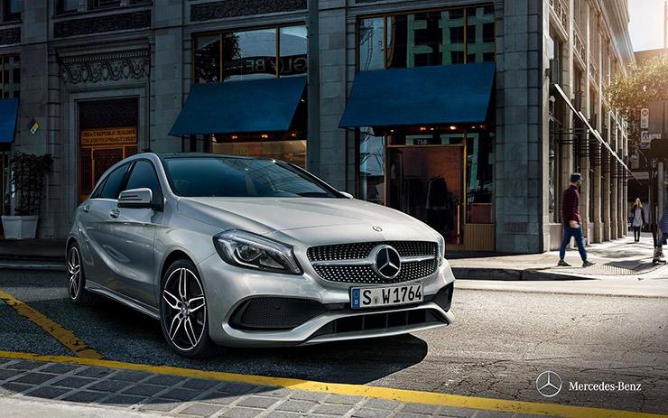 Mercedes A200 ngoại thất 3