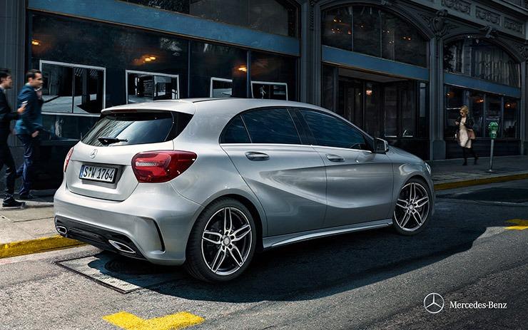 Mercedes A200 ngoại thất 4