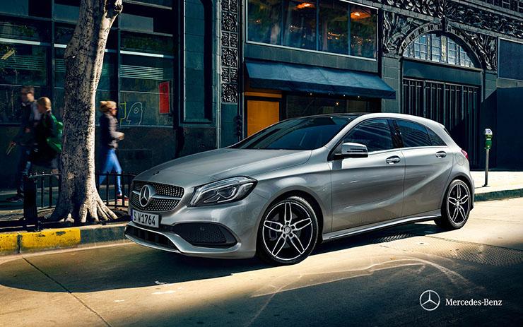 Mercedes A200 ngoại thất 5