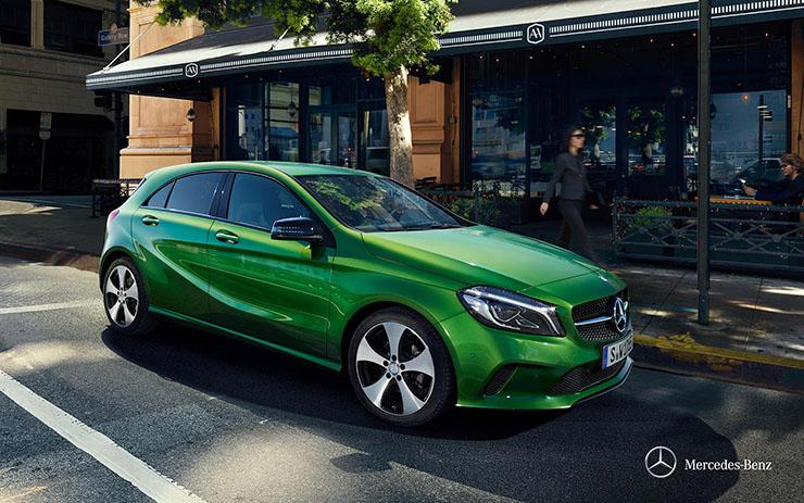 Mercedes A200 ngoại thất 6