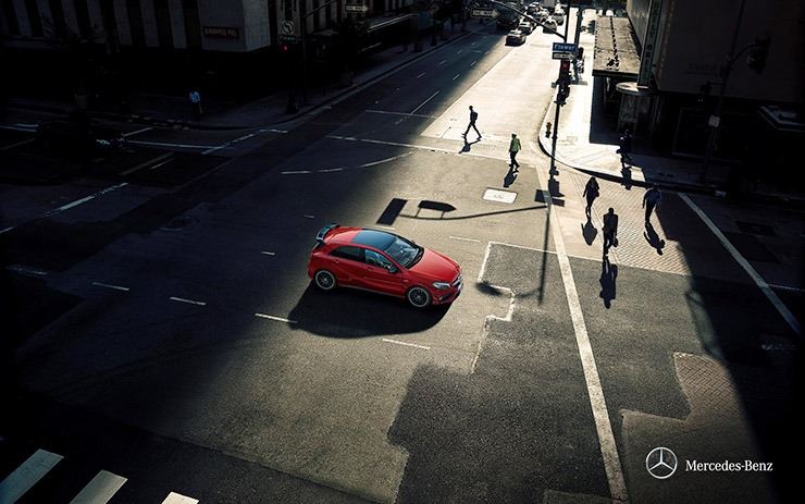 Mercedes A200 ngoại thất 8