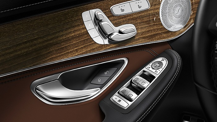 Các tiện nghi của xe Mercedes GLC 250 4MATIC
