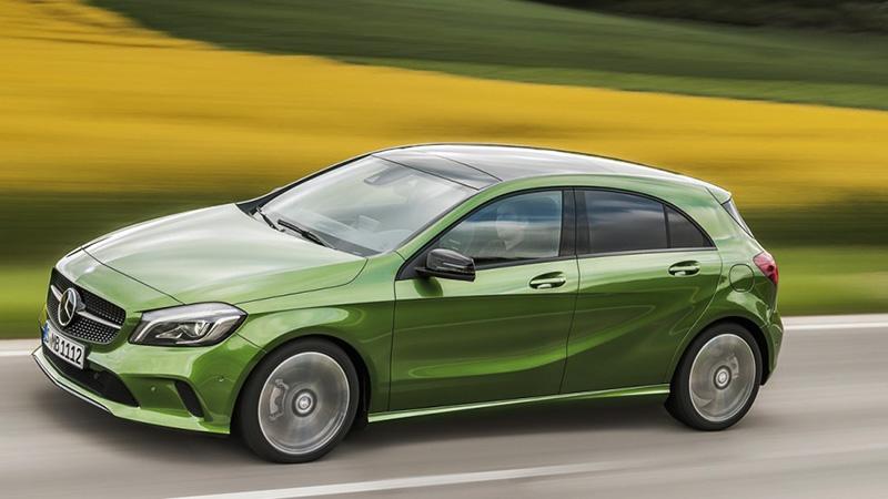 Mercedes A-class - dòng hatchback hạng sang của hãng xe nổi tiếng Đức