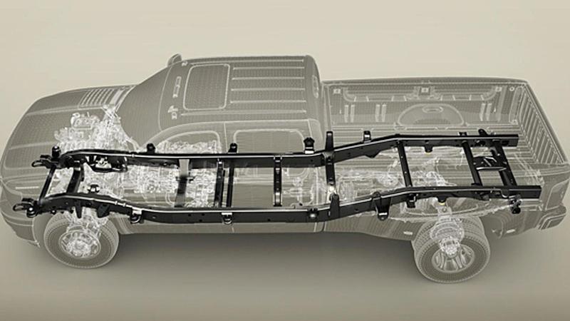Body-on-frame có phần thân tách biệt với phần khung
