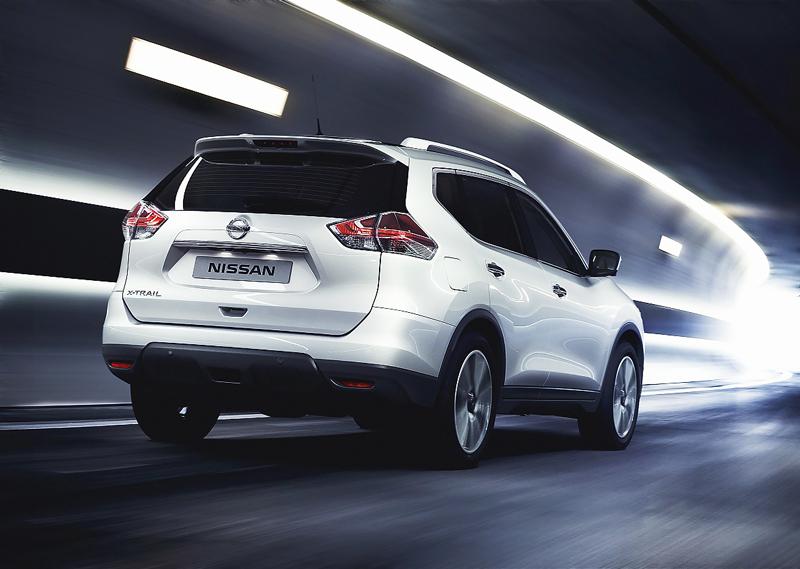 Đuôi xe Nissan X-Trail