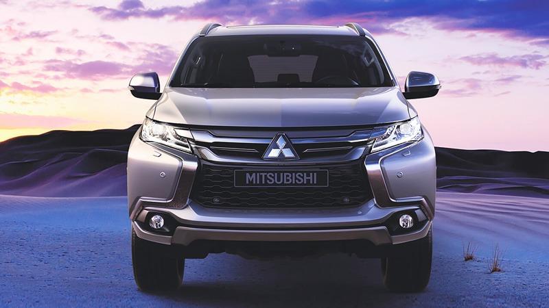 Đầu xe Mitsubishi All New Pajero Sport 2017