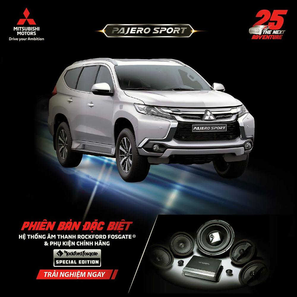 Mitsubishi Pajero Sport phiên bản đặc biệt - Special Edition 2019