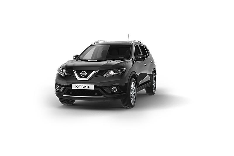 Nissan X-Trail màu đen