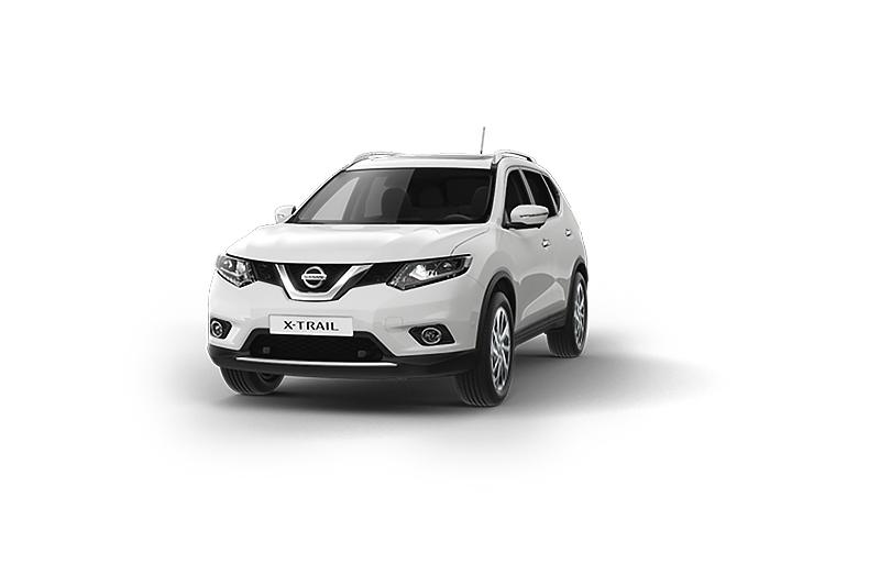 Nissan X-Trail màu bạc