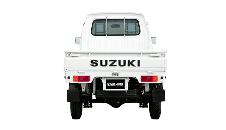 Super carry truck đuôi xe