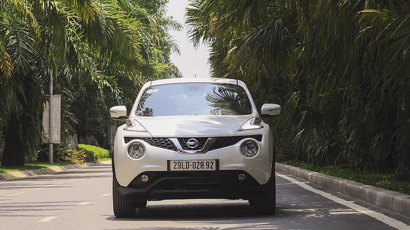 Đầu xe Nissan Juke