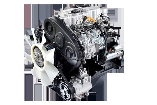 Hyundai Porter H150 động cơ