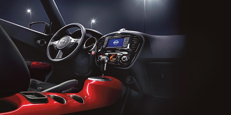 Nội thất Nissan Juke