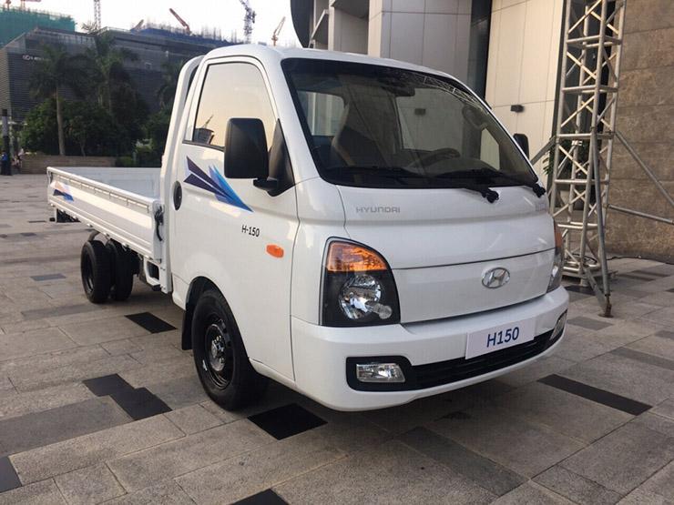 Hyundai porter H150 đầu xe