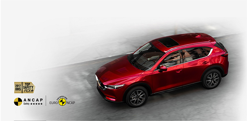 Mazda CX-5 an toan