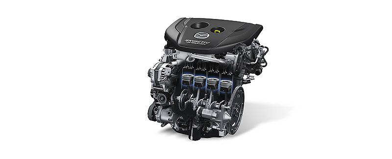 Động cơ Mazda 2 SkyActiv G
