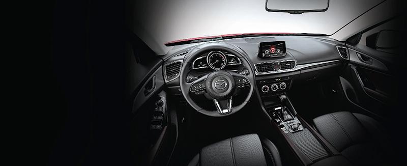 Mazda 3 nội thất