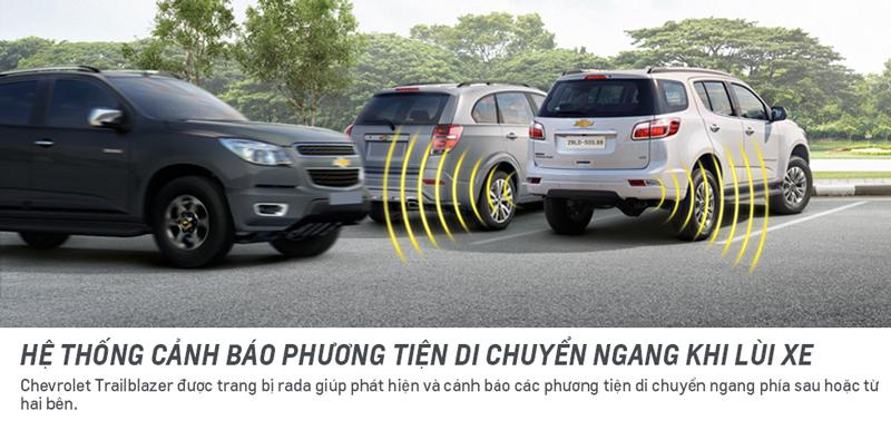 An toàn trong xe Chevrolet Trailblazer