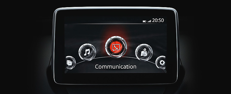Màn hình LCD Mazda 2