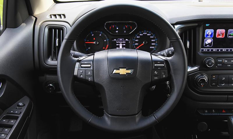 Vô lăng của xe Chevrolet Trailblazer