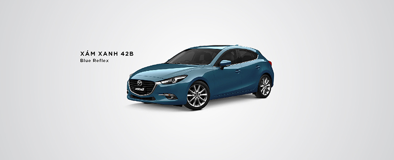 Mazda 6 màu xanh