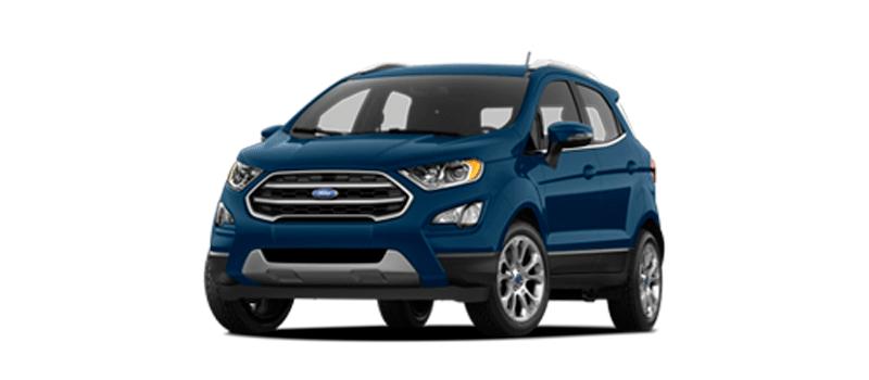 Top xe bán chạy tháng 3/2018 - Ford EcoSport