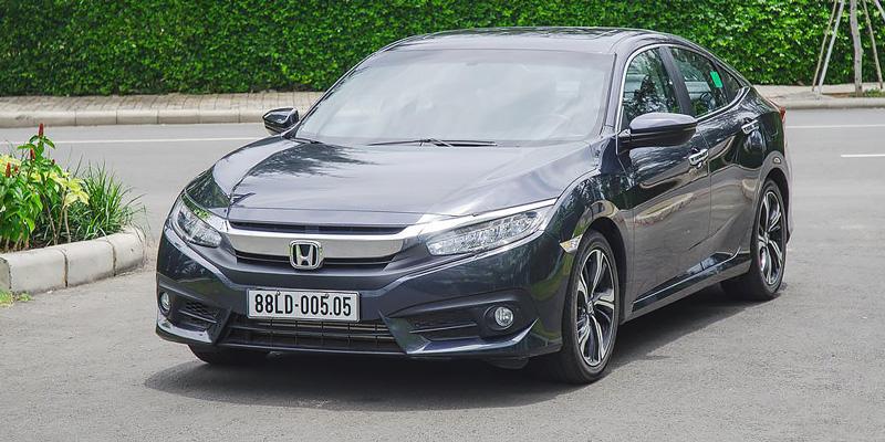 Ngoại thất Honda Civic 2018