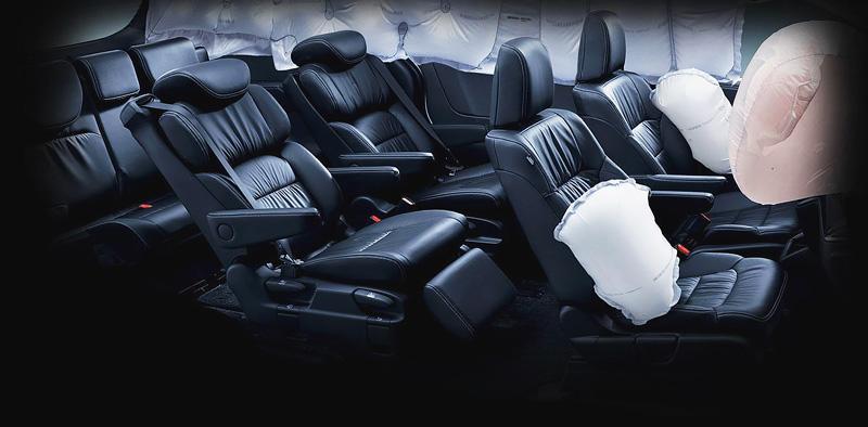 An toàn trên Honda Odyssey 2018