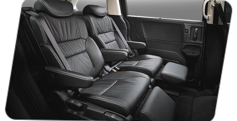 Hàng ghế 2 của Honda Odyssey