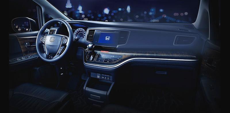 Bảng điều khiển trung tâm của Honda Odyssey