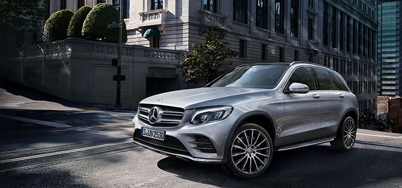 Kết quả hình ảnh cho phiên bản Mercedes GLC 200