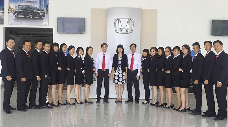Honda Cần Thơ - Nhân sự